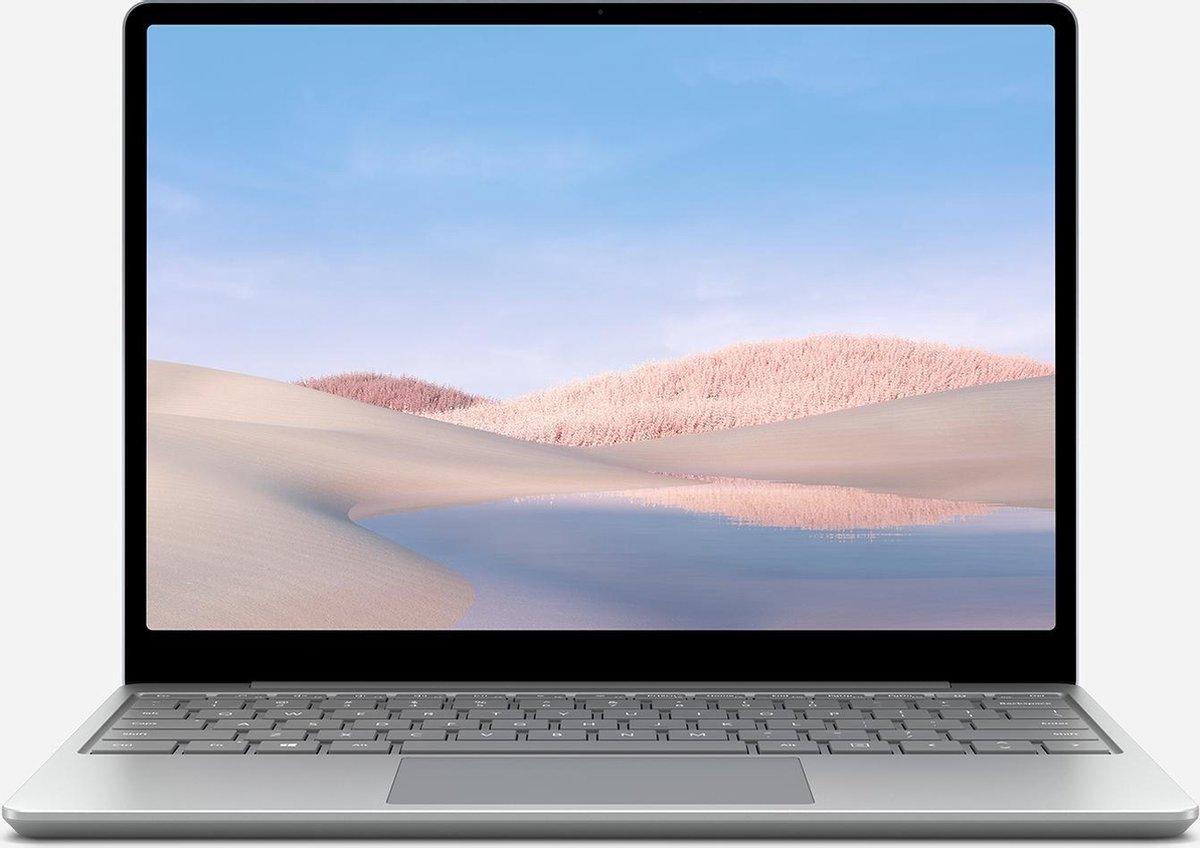 Microsoft Surface Laptop Go Notebook 31,6 cm (12.4) 1536 x 1024 Pixels Touchscreen Intel® 10de generatie Core™ i5 8 GB LPDDR4x-SDRAM 256 GB SSD Wi-Fi 6 (802.11ax) Windows 10 Pro Platina