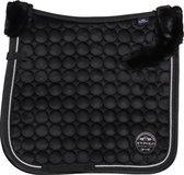 Hv Polo Zadeldek  Furry Luxury - Black - dressuur Full