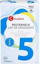 Kruidvat Peutermelk standaard 5 melkpoeder (vanaf 24 maanden)