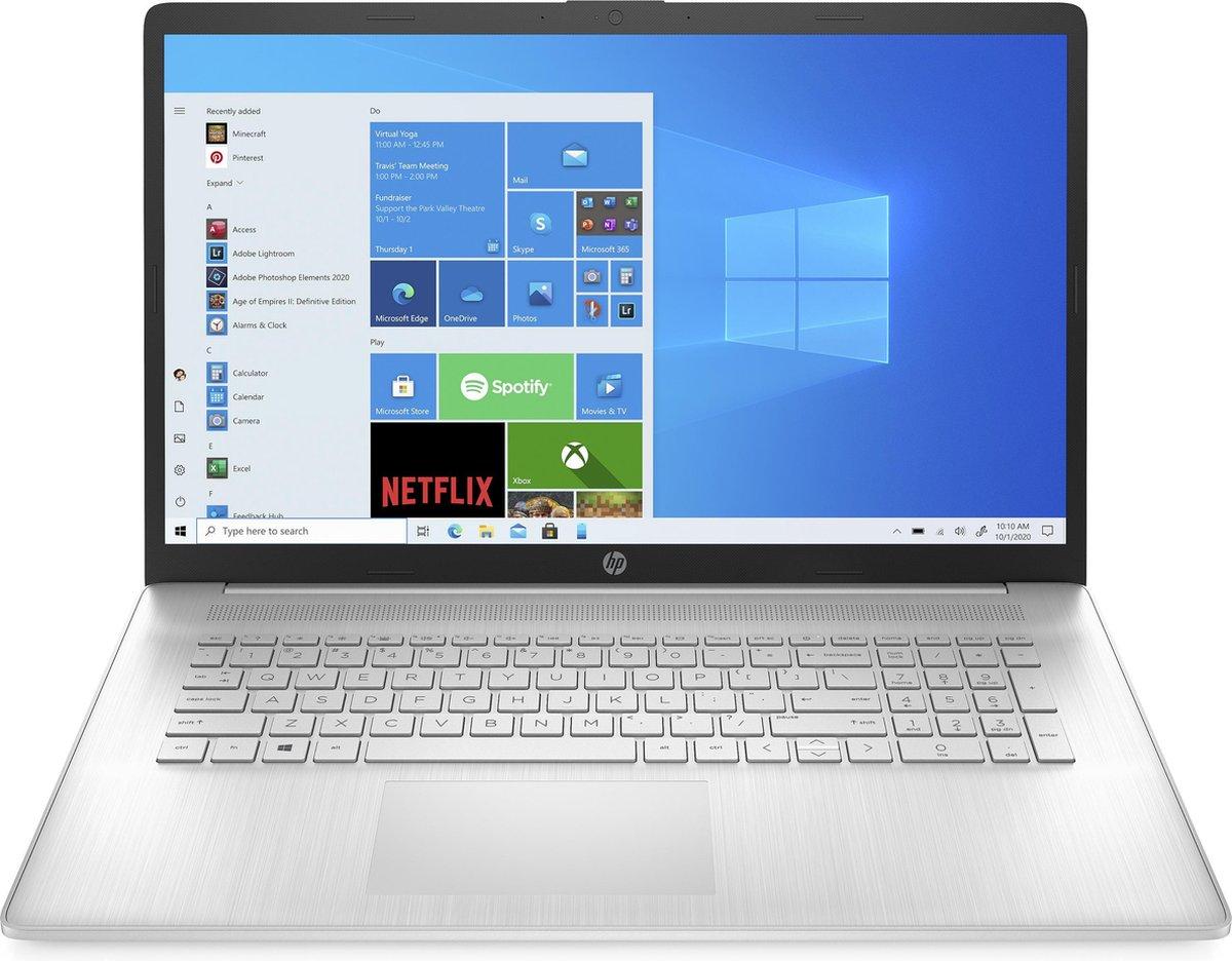 "HP 17-cn0411nd Notebook 43,9 cm (17.3"") 1920 x 1080 Pixels Intel® 11de generatie Core™ i5 8 GB DDR4-SDRAM 256 GB SSD Wi-Fi 5 (802.11ac) Windows 10 Home Zilver"