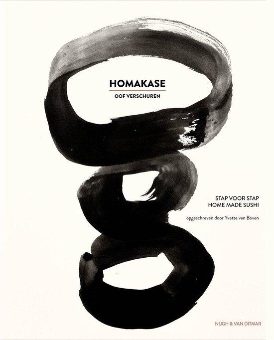 Boek cover Homakase van Oof Verschuren (Hardcover)