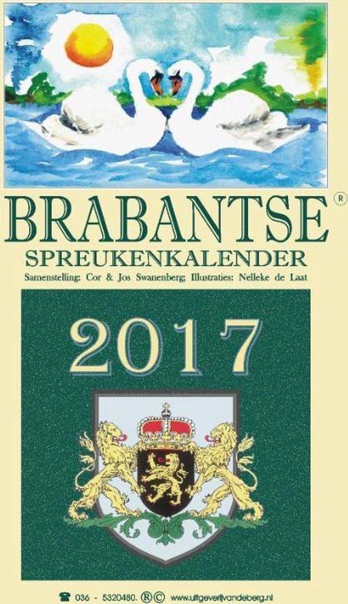 Brabantse spreukenkalender 2017 - Cor Swanenberg