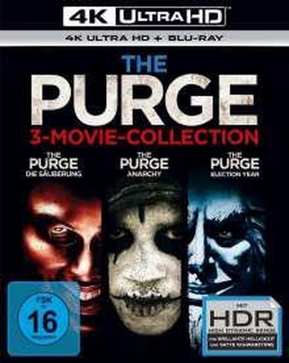 The Purge Trilogy (Ultra HD Blu-ray & Blu-ray)-