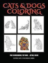 Intricate Coloring Book (Cats and Dogs)