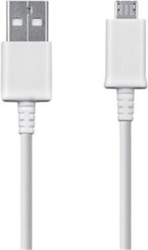 datakabel micro USB 1.5m - wit