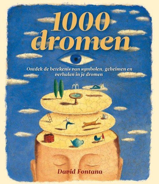 Cover van het boek '1000 dromen' van D. Fontana