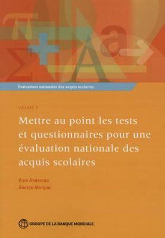 Evaluations nationales des acquis scolaires, Volume 2