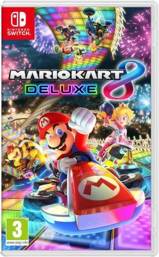 Cover van de game Mario Kart 8 Deluxe - Nintendo Switch