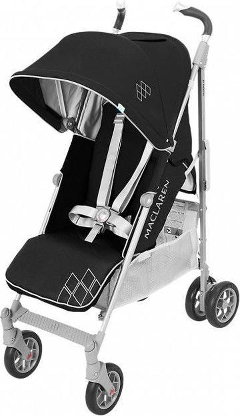 Product: Maclaren Techno XT Buggy - Black/Silver, van het merk Maclaren