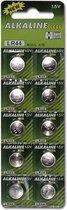Knoop Batterijen - 10 stuks (LR44) - Drogist - Voor Toys - Drogisterij - Batterijen en Laders