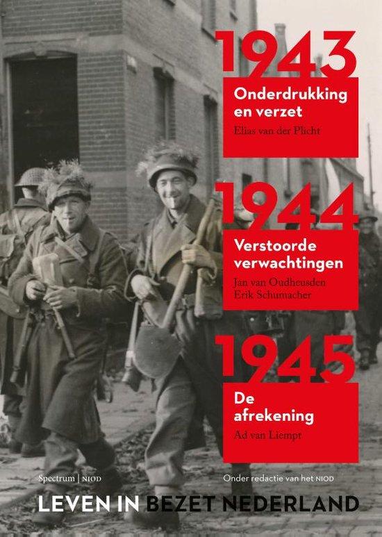 Boek cover Leven in bezet Nederland 1940-1945 van Ad van Liempt (Paperback)