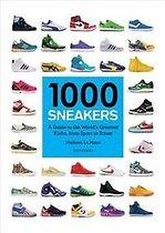 Boek cover 1000 Sneakers van Mathieu le Maux