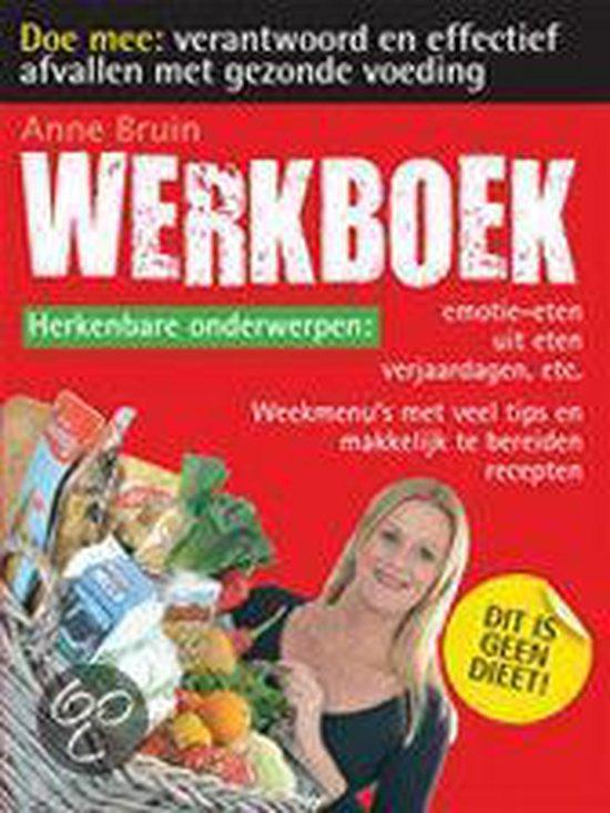 Cover van het boek 'Afvallen / deel Werkboek / druk 1'