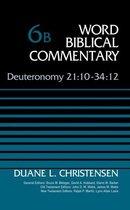 Boek cover Deuteronomy 21:10-34 van Duane Christensen