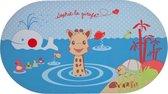 Sophie de giraf badmat met temperatuurindicator