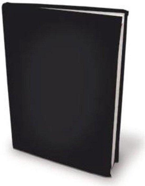 Benza - Rekbare Boekenkaften - Zwart A5