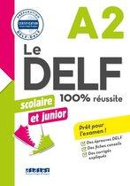 Le DELF scolaire et junior - 100% réussite - A2 - Livre -Version numérique epub