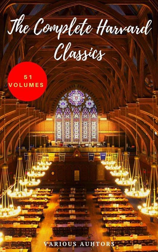 Boek cover The Harvard Classics & Fiction Collection [180 Books] van Benjamin Franklin (Onbekend)