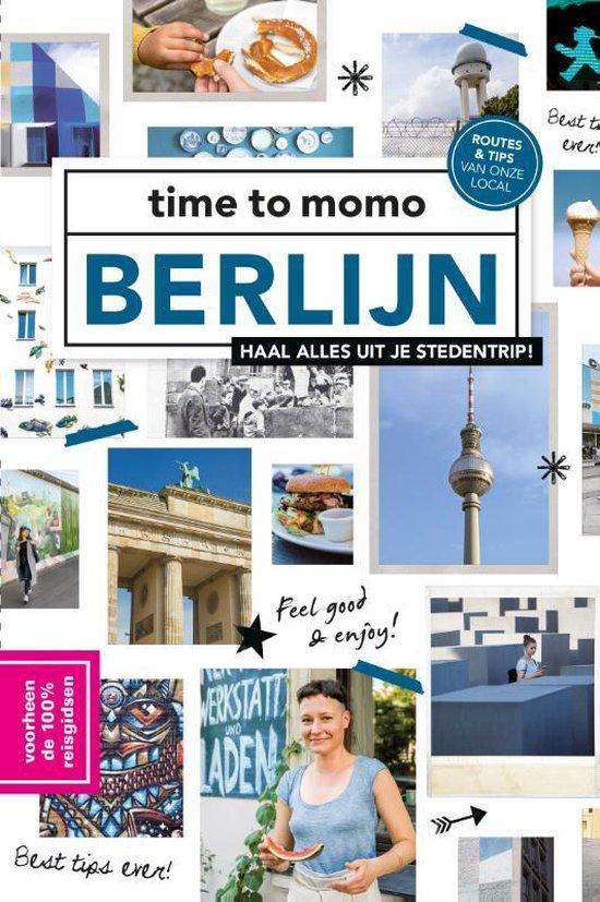 Boek cover Time to momo  -   Berlijn van Lars Smits (Paperback)