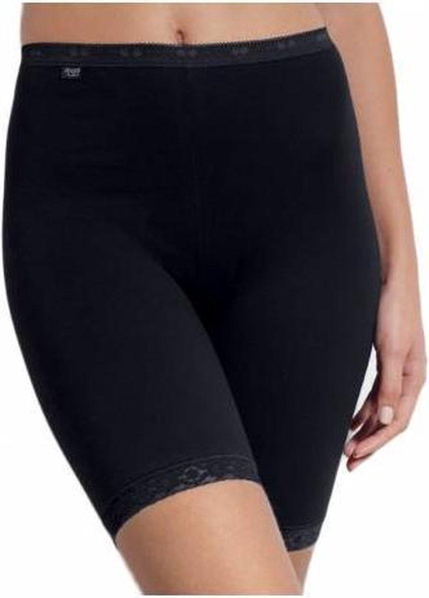 Sloggi Dames Basic Long Slip - Zwart - maat 50