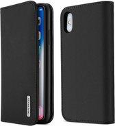 iPhone XR hoesje - Dux Ducis Wish Wallet Book Case - Zwart