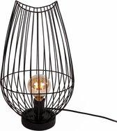 Dulaire Tafellamp Zwart Modern Metaal