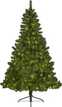 Everlands Imperial Pine Kunstkerstboom - 150 cm hoog - Met verlichting met twinkel functie