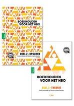 Boek cover Boekhouden voor het hbo deel 2. Theorie- en opgavenboek van Gerard van Heeswijk