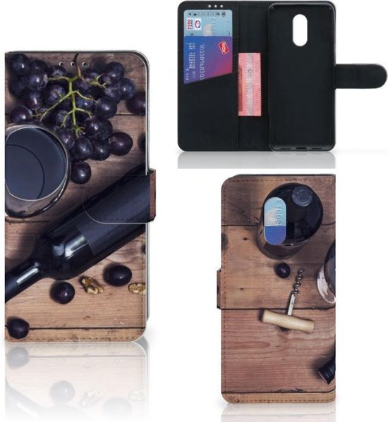 OnePlus 7 Book Cover Wijn
