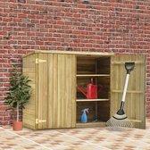 Tuinschuur 135x60x123 cm geïmpregneerd grenenhout