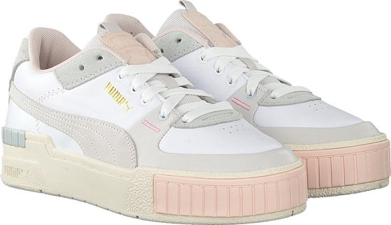 Puma Dames Lage sneakers Cali Sport Mix Wn's - Wit - Maat 40 ...