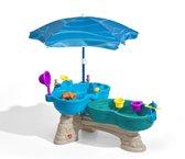 Step2 Watertafel Spill & Splash Seaway - Incl. 11-delige accessoireset en Parasol
