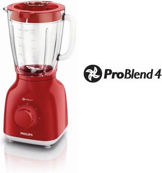 Philips Daily HR2105/50 - Blender - Rood