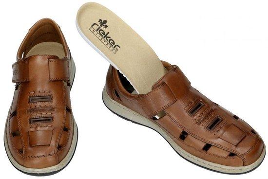 | Rieker Heren bruin sandaal gesloten maat 45