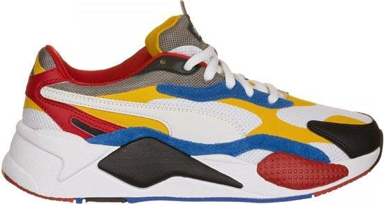 Puma RS-X3 Puzzle Sneakers Heren - Sportschoenen Wit - Maat 41