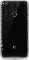 Casetastic Softcover Huawei P8 Lite (2017) - Black Mandala