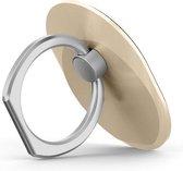 GadgetBay Ring grip universeel smartphone vinger houder - goud