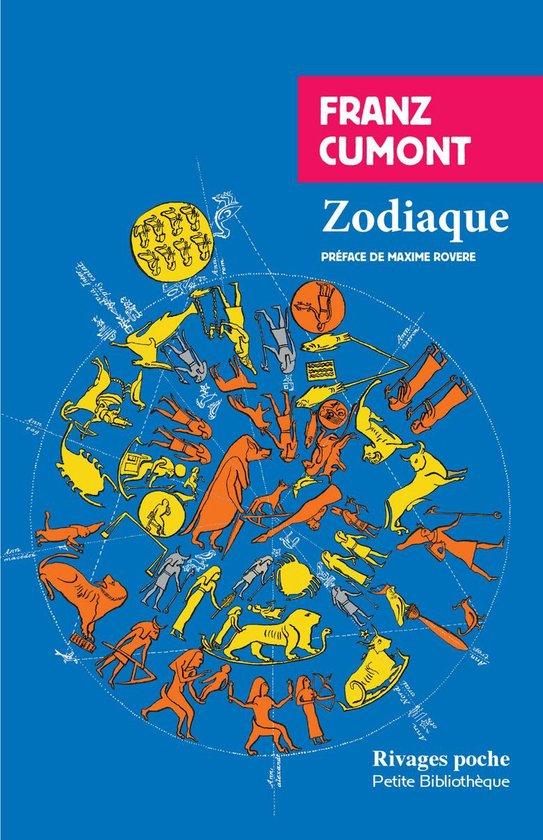 Boek cover Zodiaque van Franz Cumont (Onbekend)