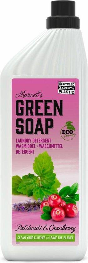 Marcel's Green Soap Wasmiddel Patchouli & Cranberry - 6 x 1 l