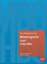 Educatieve wettenverzameling  -  Sdu Wettenbundel Belastingrecht 2021 MBO-HBO