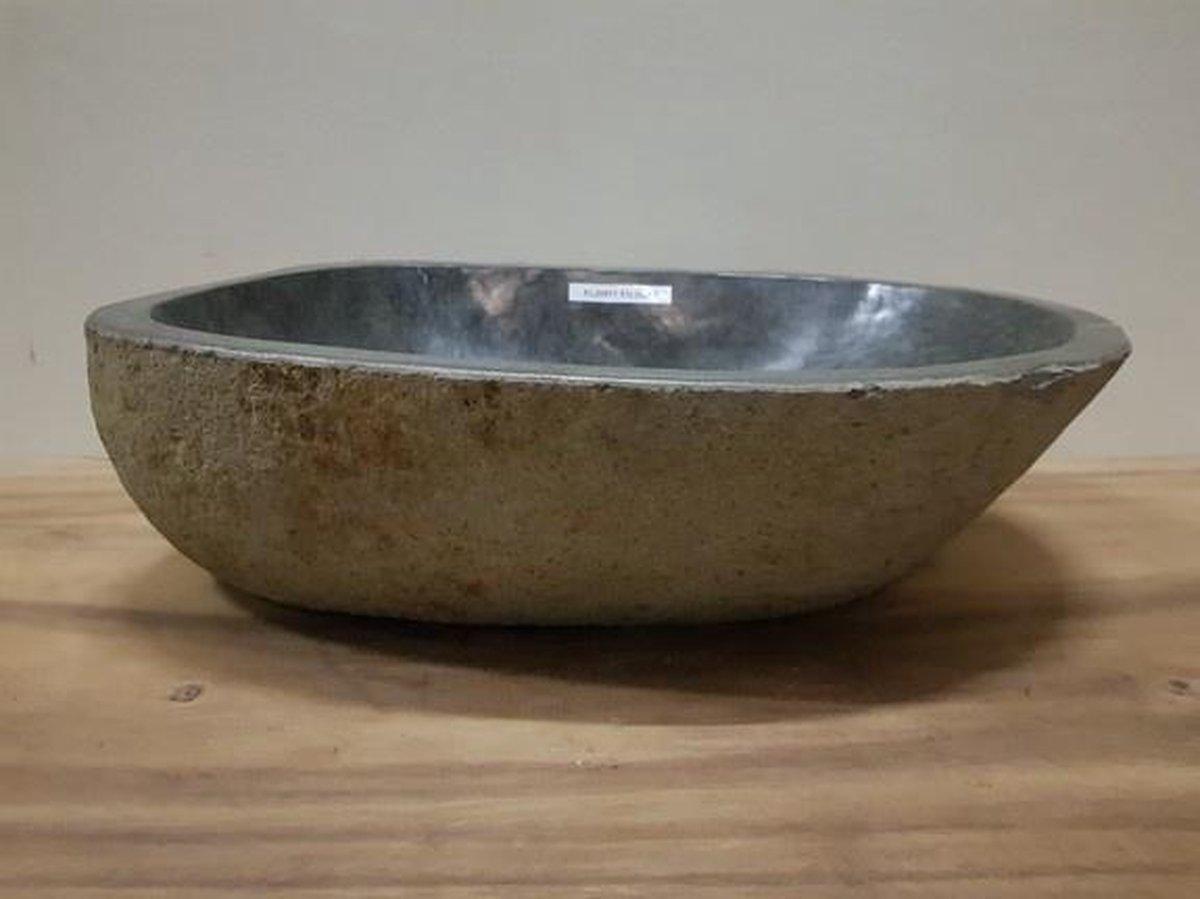 Waskom natuursteen FL20511 - 53x36x15cm