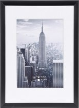 Fotolijst - Henzo - Manhattan - Fotomaat 13x18 cm - Zwart
