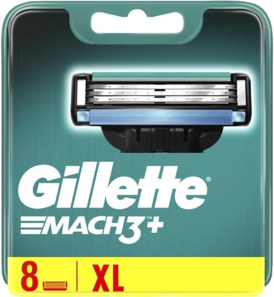 Gillette Scheermesjes Mach 3 8 stuks