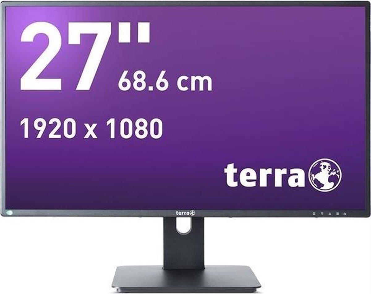 Wortmann AG TERRA 2756W PV V2 68,6 cm (27) 1920 x 1080 Pixels Full HD LED Zwart