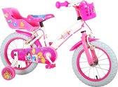 Volare Kinderfiets-CONVERTMeisjesMeisjes - roze/wit