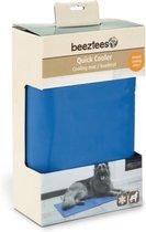 Beeztees Quick Cooler Izi Koelmat - Blauw - 95 x 75 cm