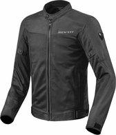 REV'IT! Eclipse Black Textile Motorcycle Jacket XL