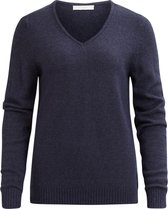VILA VIRIL V-NECK L/S KNIT TOP - NOOS Dames Trui - Maat L