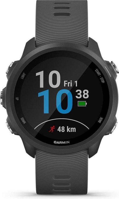 Garmin Forerunner 245 - Hardloop horloge - Zwart/Grijs
