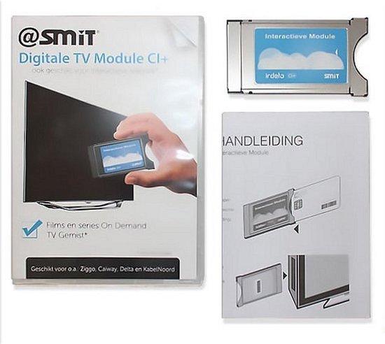 Smit CI+1.3 CAM module voor Interactieve Tv